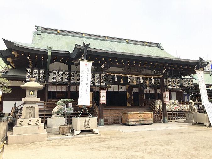 大阪天満宮本殿