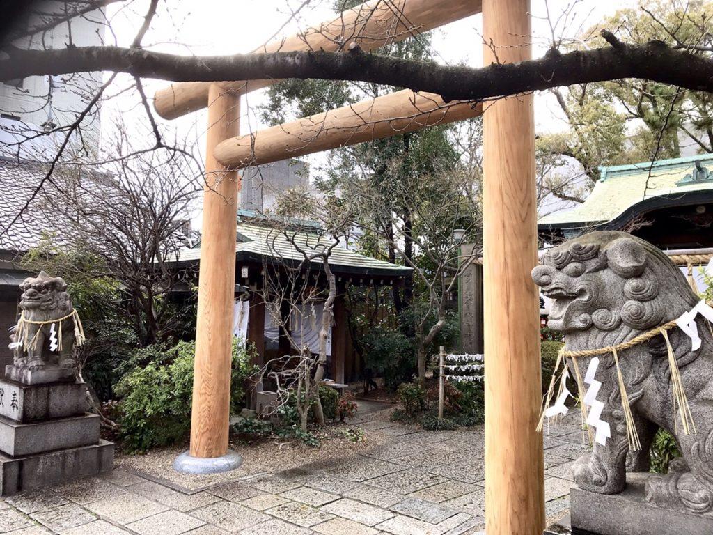 堀越神社狛犬