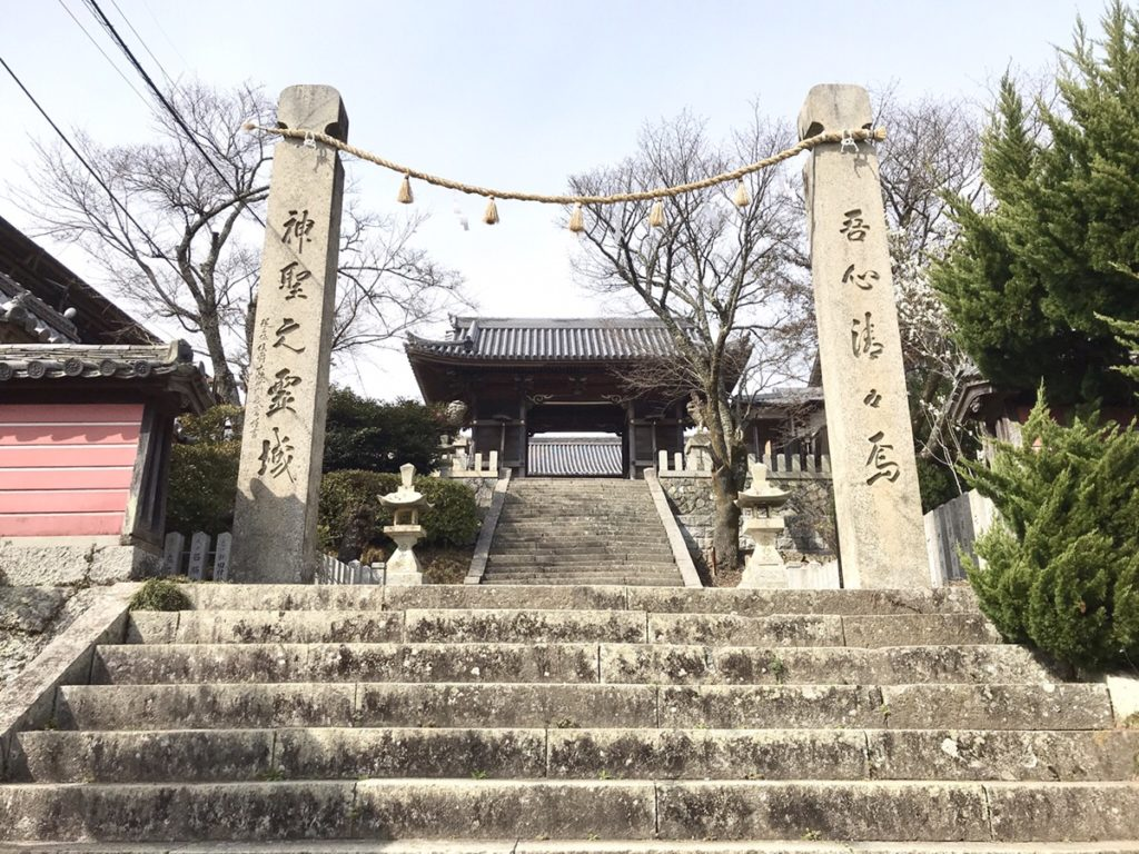 廣峯神社入り口③