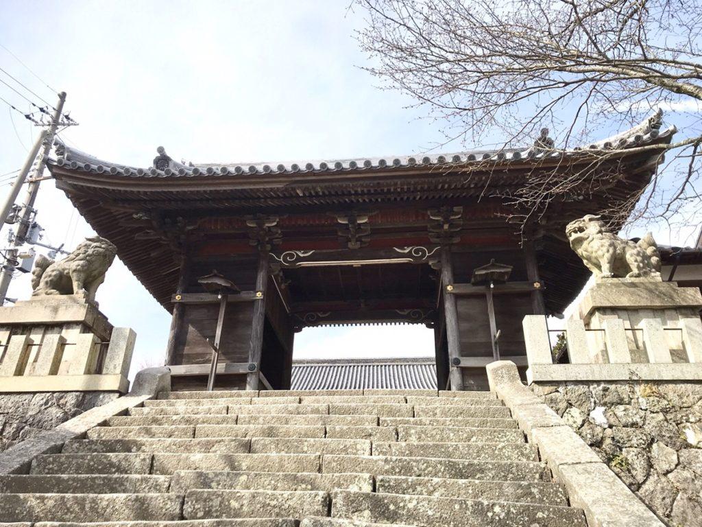 廣峯神社入り口