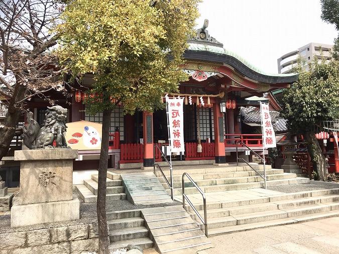 阿倍王子神社本殿