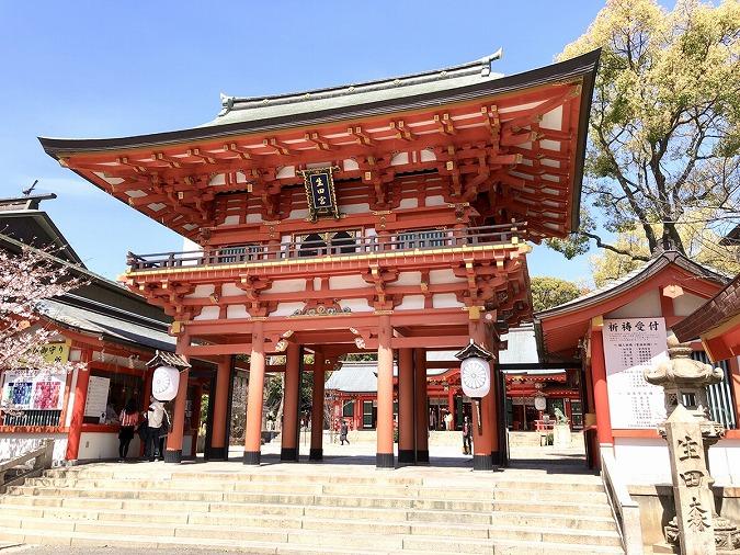 生田神社楼門②