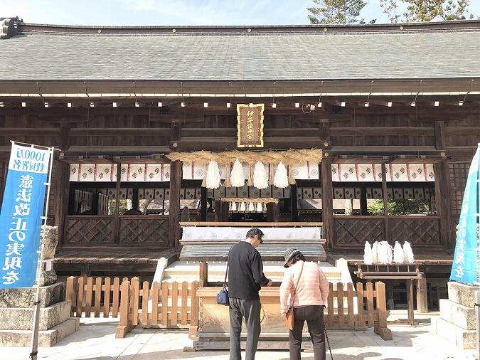 伊弉諾神宮拝殿②