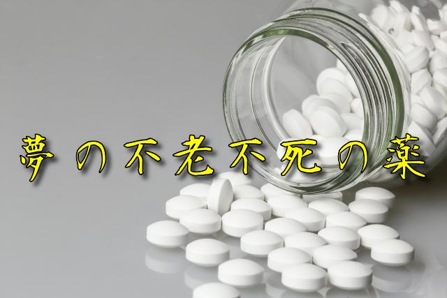 『夢の不老不死の薬』 作・春名功武